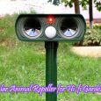 Solar Animal Repeller for Hi-fi Gardens